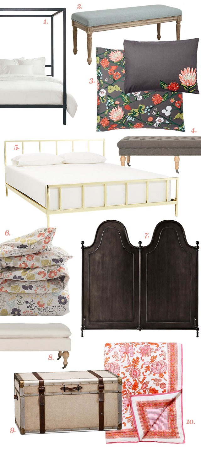 Designing a Room Around Floral Bedding