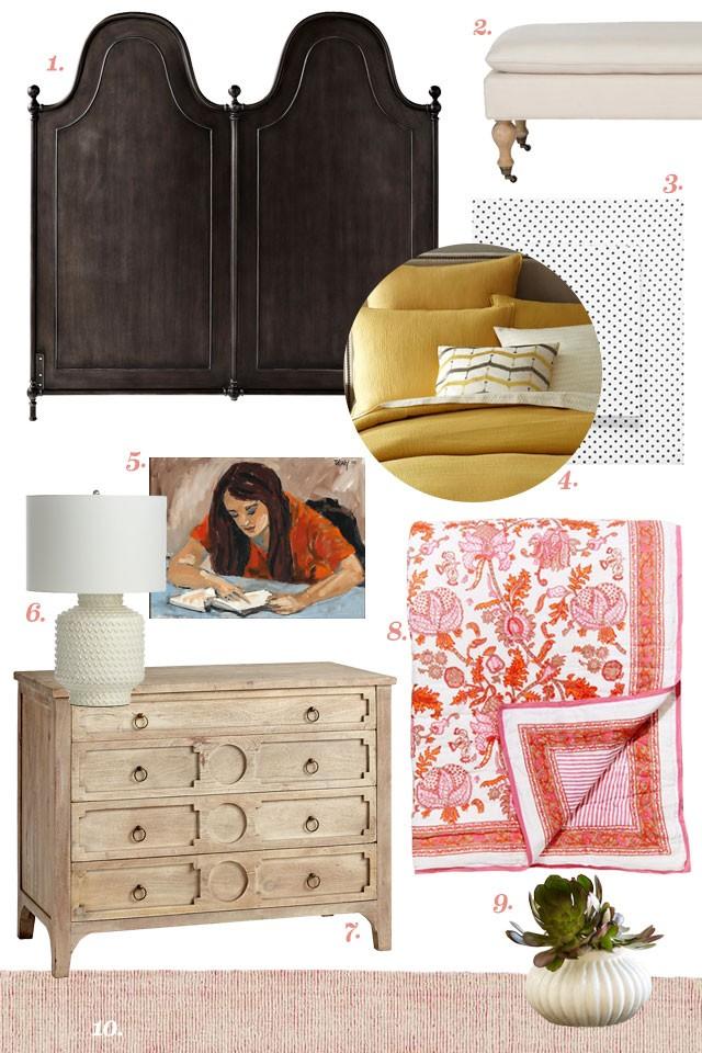 Designing a Room Around Floral Bedding