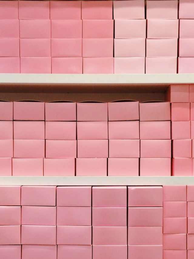 Pink Bakery Boxes
