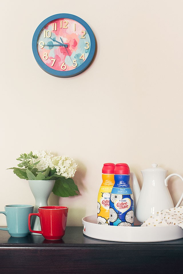 An #InspiredStart with David Bromstad's Coffee-Mate Designs | Making it Lovely