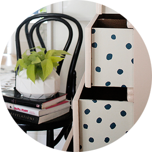 Peekaboo Wallpaper Drawers