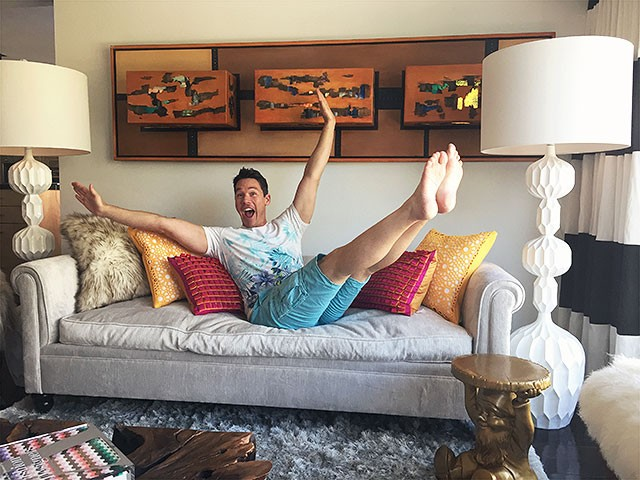 David Bromstad seems like a pretty reserved guy, don't 'ya think?