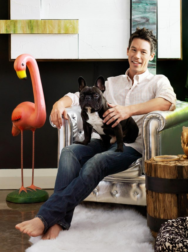 David Bromstad, shot for HGTV Magazine