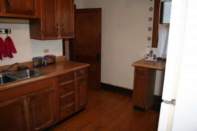 Our Old Kitchen, Before Being Redone