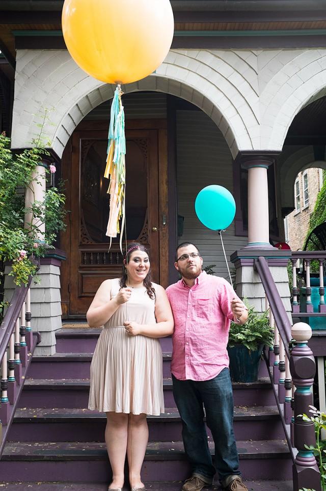 Ashley and Matt, Womp Womp Balloons