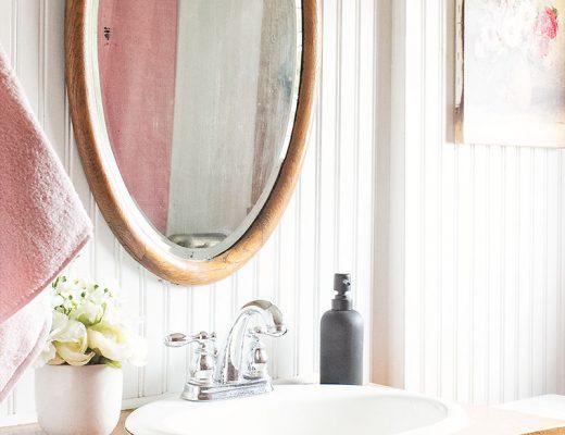 Third Floor Bathroom with Pink