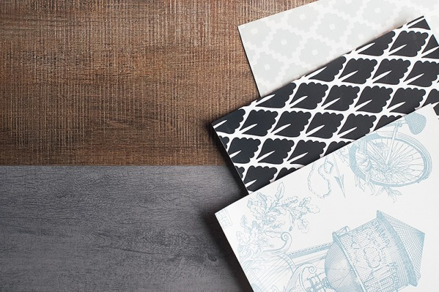 Wallpapers and Wood Look Tile
