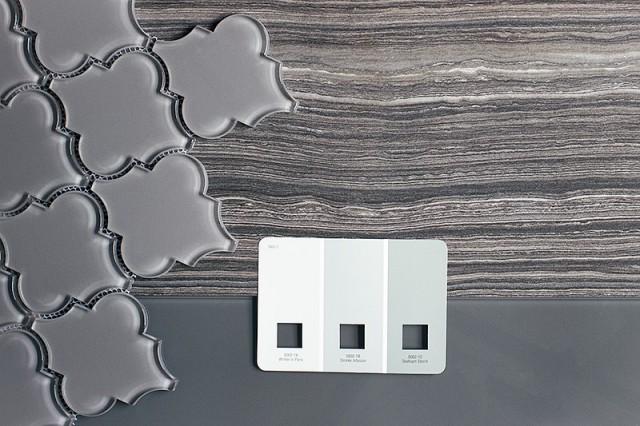 Glass and Eramosa Gray Tiles