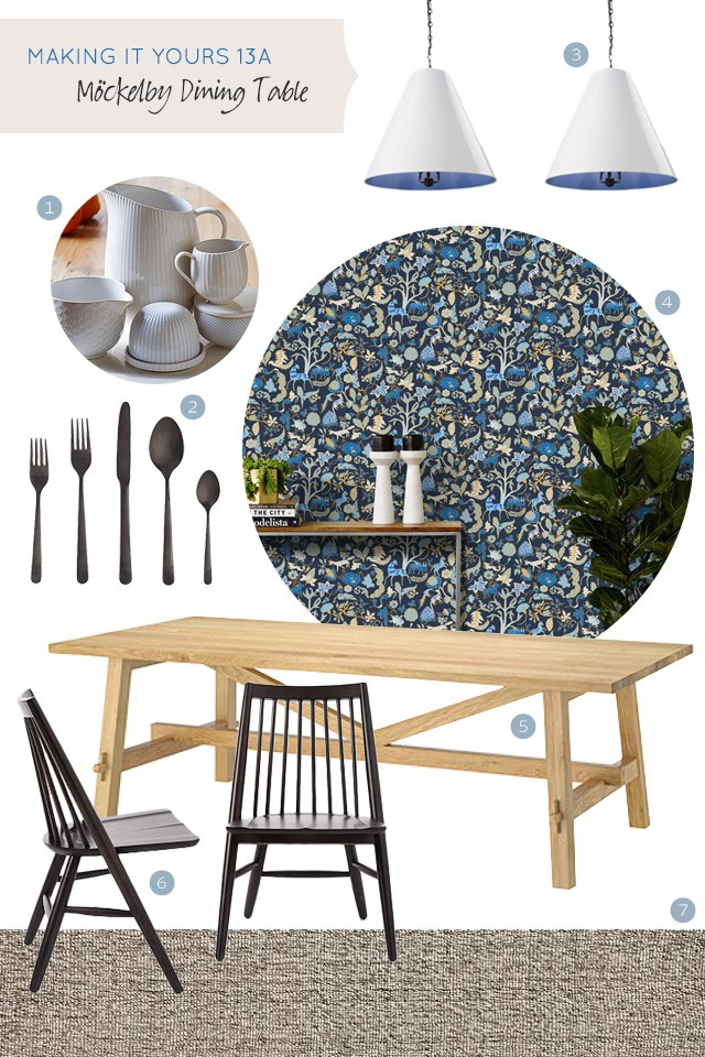 Making it Yours 13A: IKEA Mockelby Dining Table