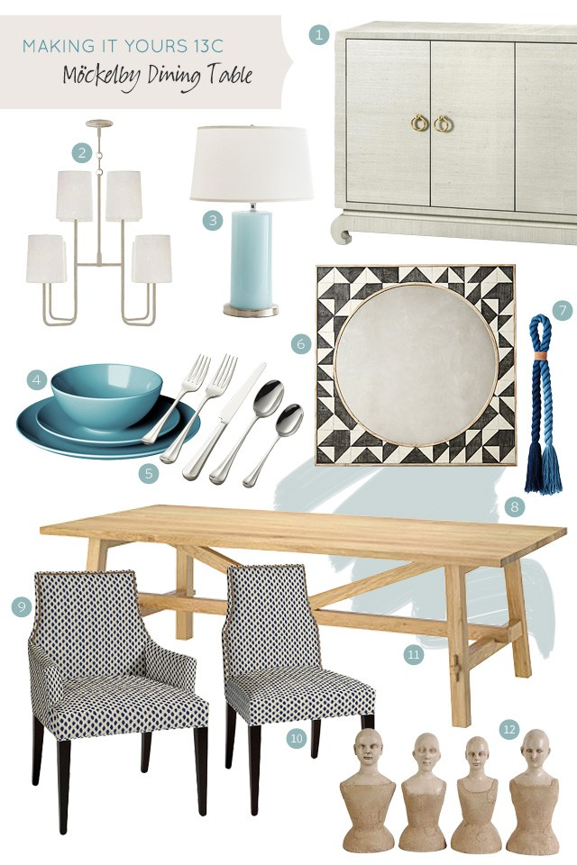 Making it Yours 13C: IKEA Mockelby Dining Table