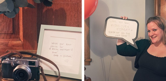 Marriage Advice at a Bridal Shower