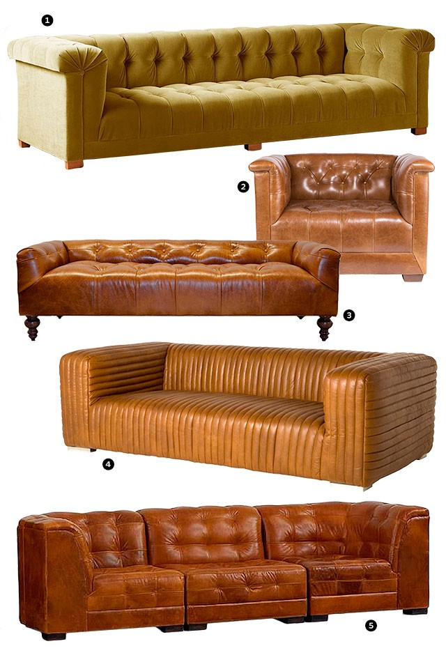 Boxy, Tufted, 70s-Inspired Seating