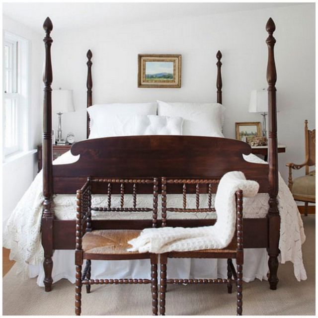 Luxury Antique Four Poster Bed