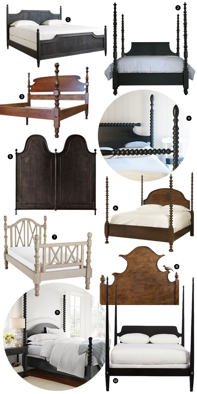 Four Poster, Cannonball, and Other Decorative Beds