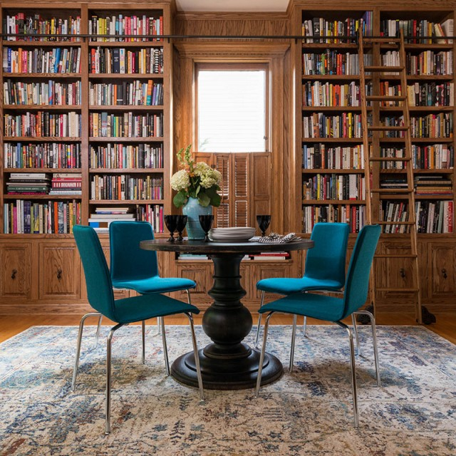 Loloi Anastasia Rug in Making it Lovely's Home Library