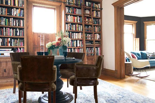 Baldwin Leather Chair, Jayson Home