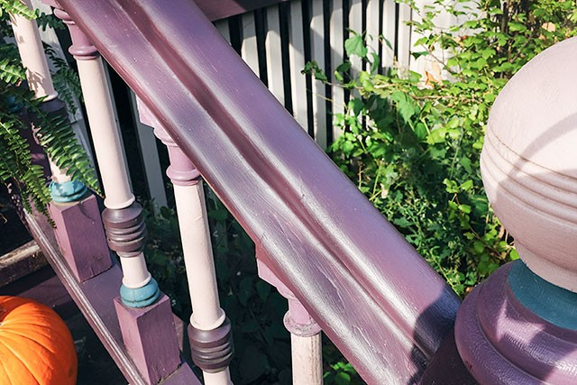 Wood Rot in the Front Porch Railing