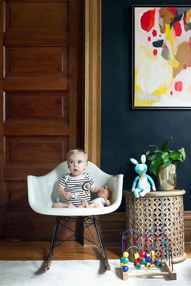 Ten Months Old (Calvin's Monthly Photo)