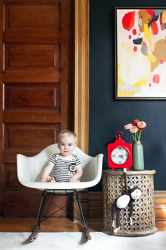 Eleven Months Old (Calvin's Monthly Photo)