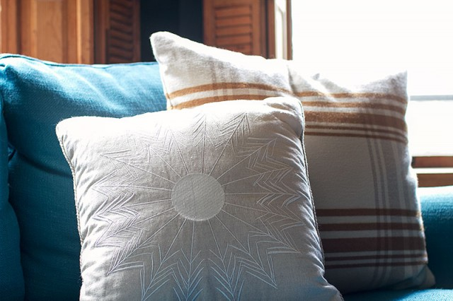 Adam Lippes for Target Reversible Plaid Pillow
