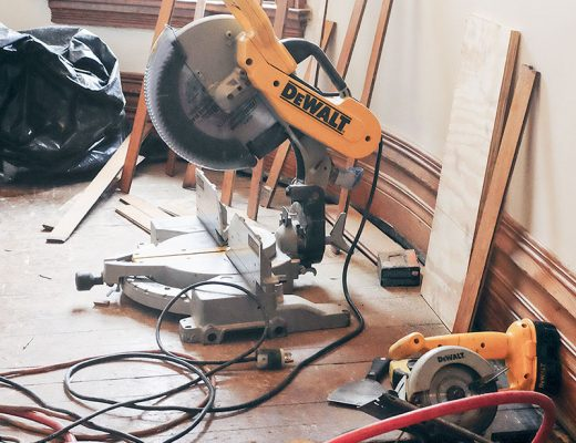 Tools to Fix the Closet Subfloor