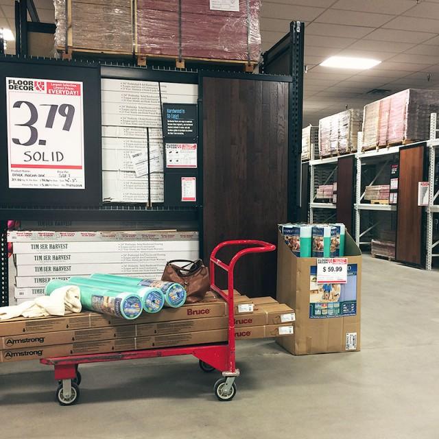 Buying Wood Flooring at Floor & Decor