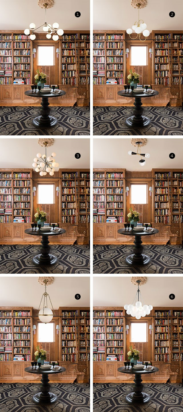 Library Lighting Photoshop Mockups