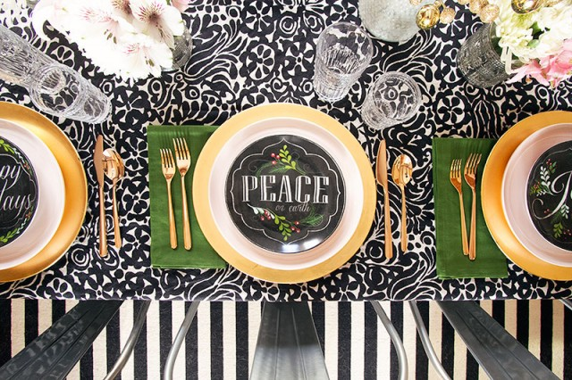 Holiday Table Setting | Making it Lovely