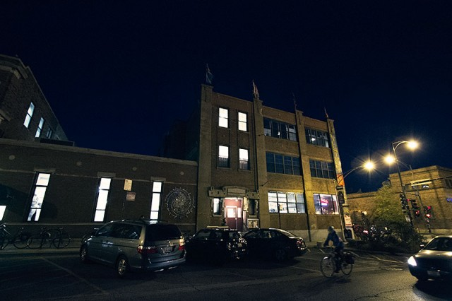 Lillstreet Art Center at Night