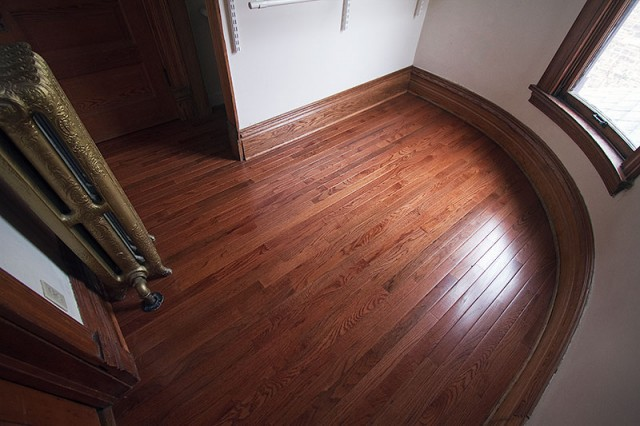 Hardwood Flooring in the Closet