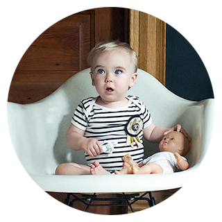 Calvin's Monthly Baby Pictures Series