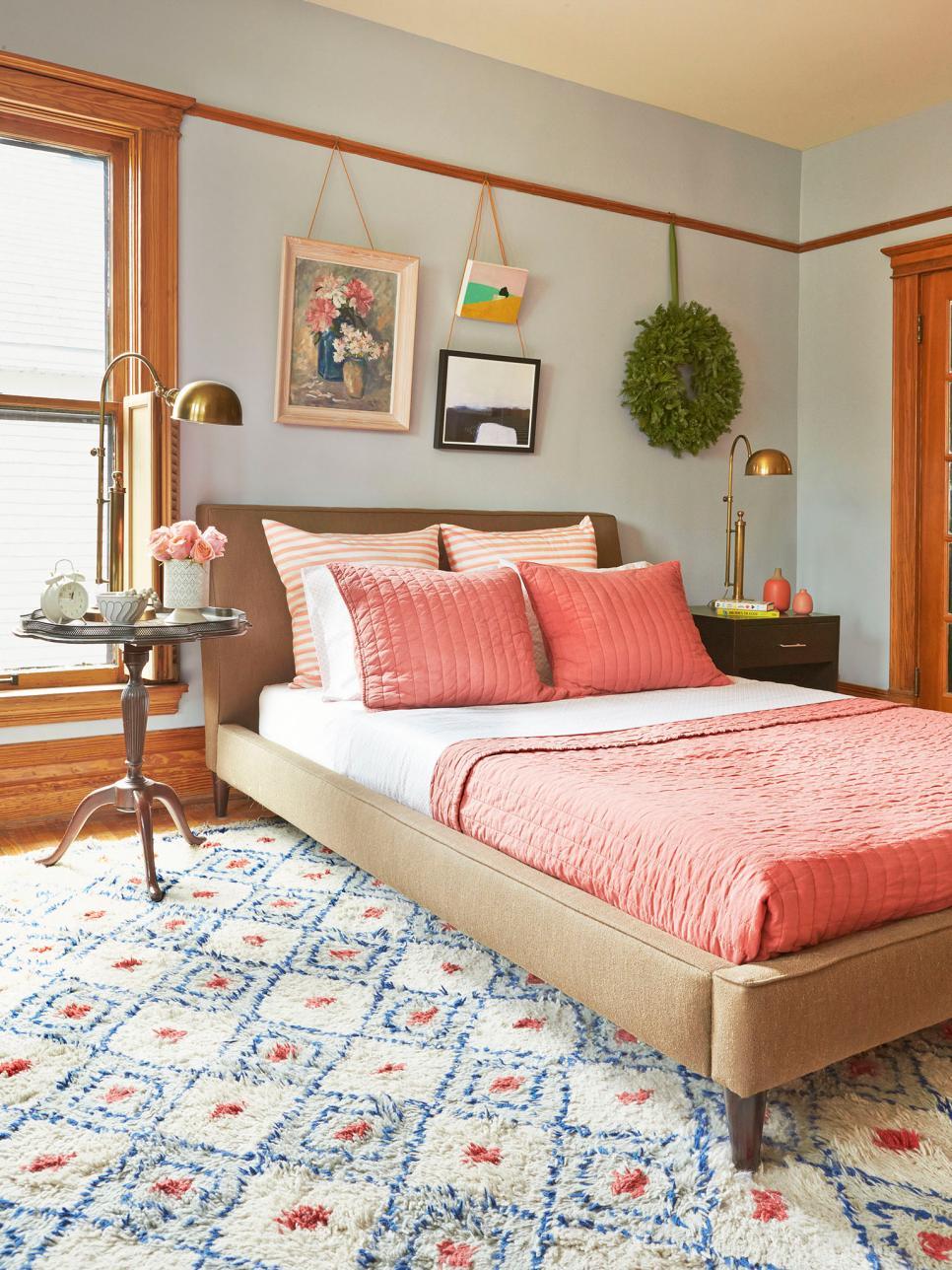 Making it Lovely's Bedroom in HGTV Magazine's Christmas 2015 Issue