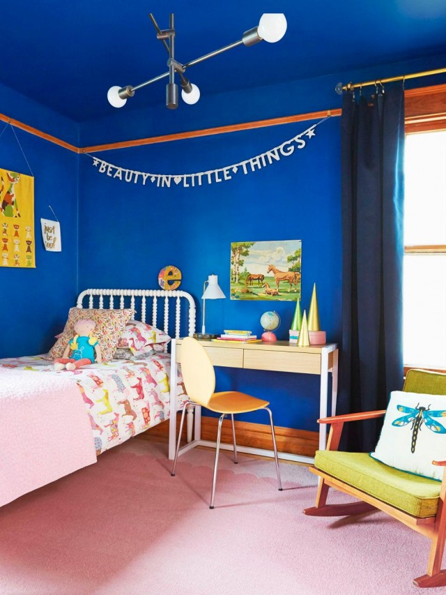 Making it Lovely's Daughter's Bedroom in HGTV Magazine's Christmas 2015 Issue