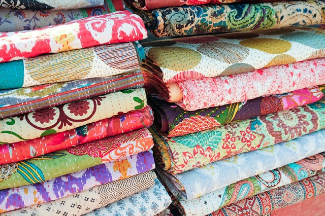 Vintage Kantha Quilts #LoveYourThings #Scotchgard