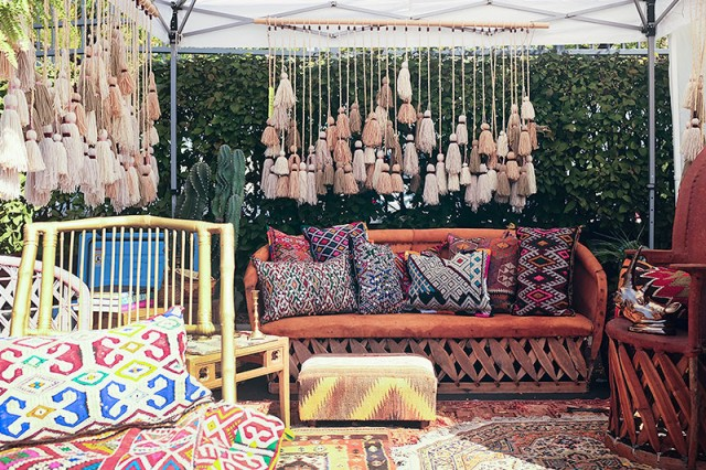 Vintage Furniture and Rugs #LoveYourThings #Scotchgard