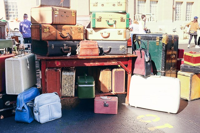 Vintage Luggage #LoveYourThings #Scotchgard