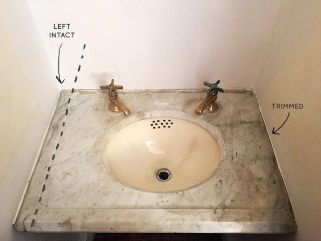 Uneven Sink