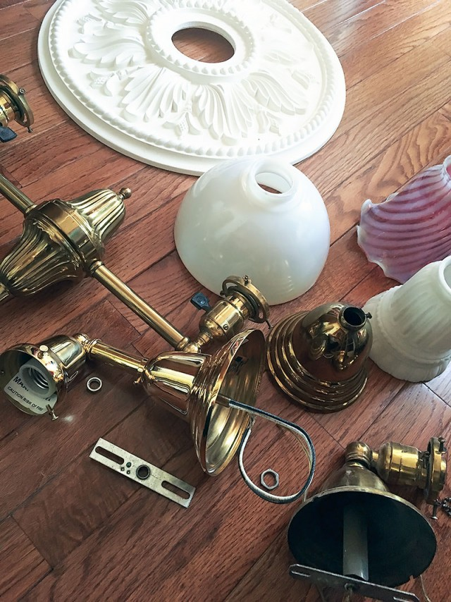 Brass and Glass, Old and New