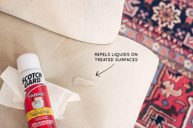 #Scotchgard Repels Liquids #LoveYourThings