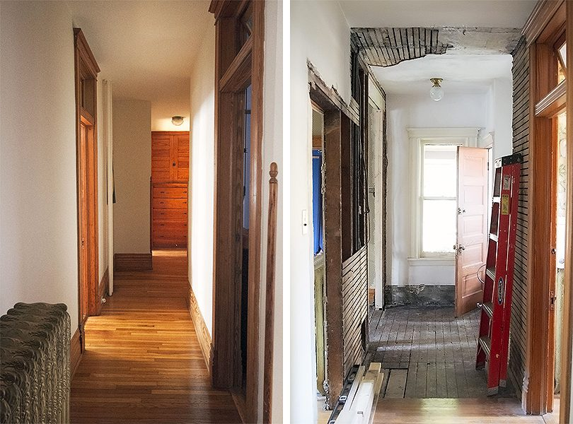 The Hallway, Before