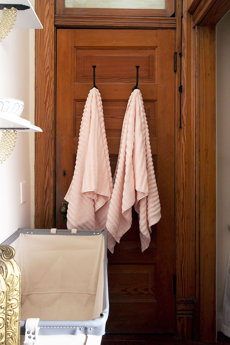 Pale Pink Towels