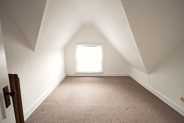 Small Attic Room