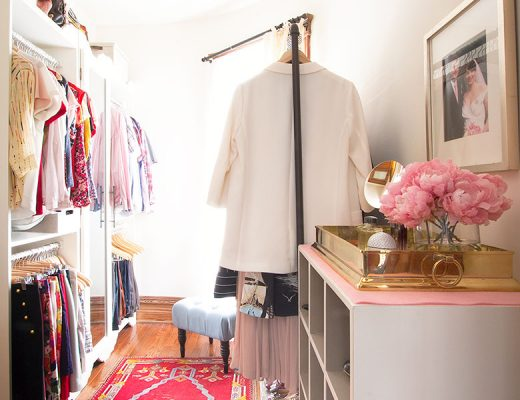 Making it Lovely's Master Closet