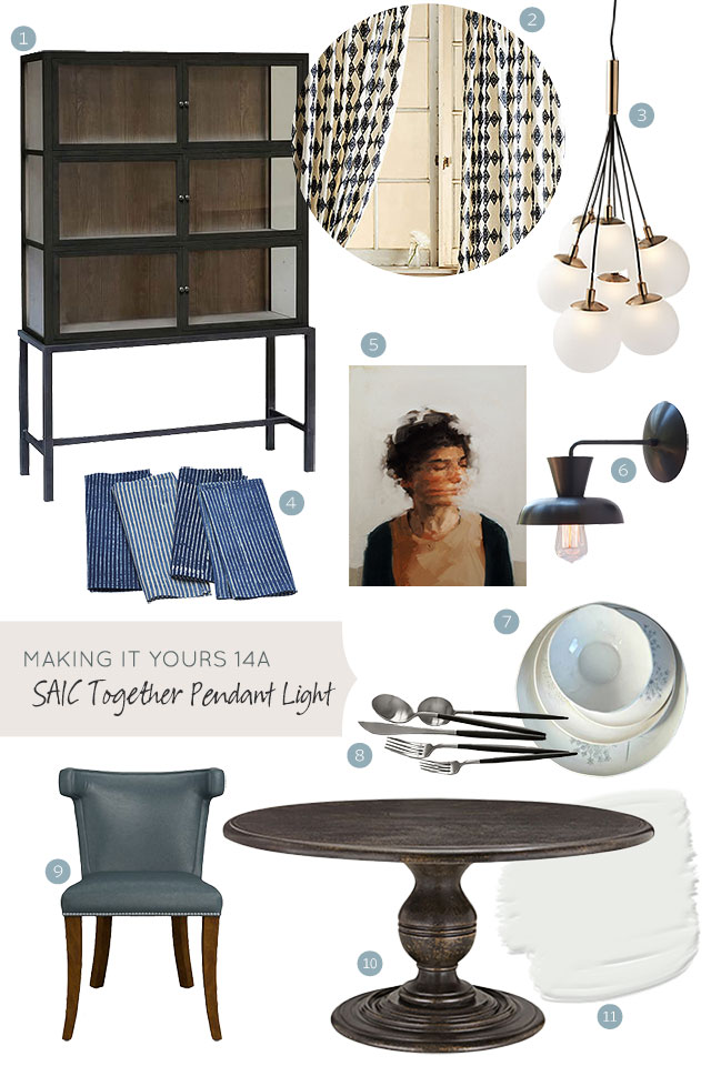 Making it Yours 14A: SAIC Together Pendant Light | Making it Lovely