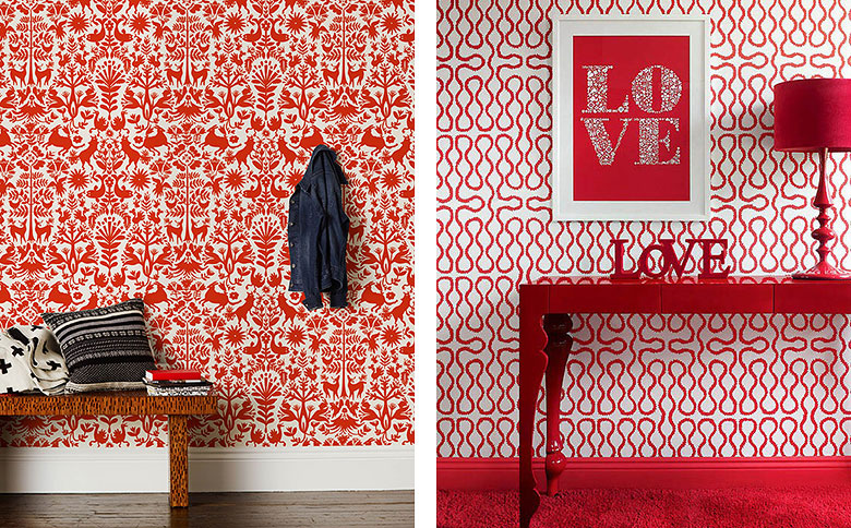 20 Inspiring Red Rooms - Making it Lovely