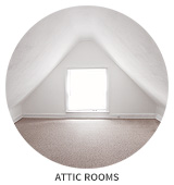 Victorian House Tour: Attic Rooms