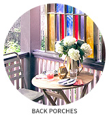 Victorian House Tour: Back Porches