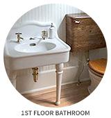 Victorian House Tour: Bathroom (1st Floor)