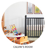 Victorian House Tour: Calvin's Room