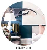 Victorian House Tour: Den / Family Room